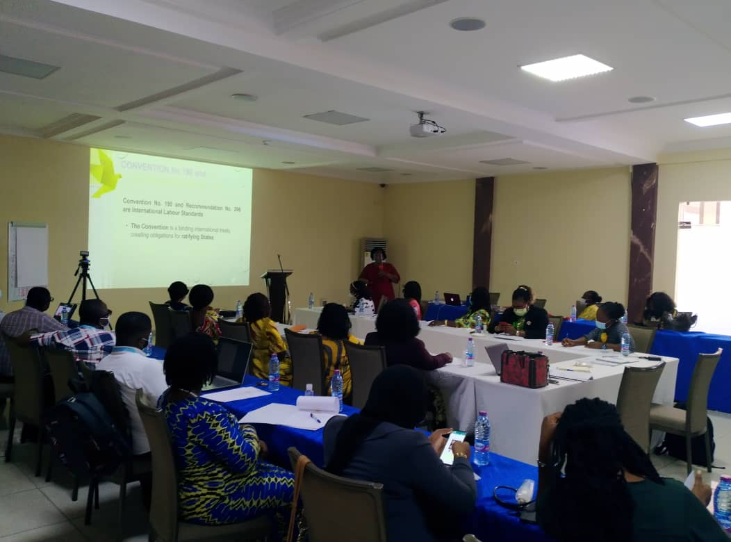 MELR /ACTION AID GHANA TRAINS STAKEHOLDERS ON ILO CONVENTION190
